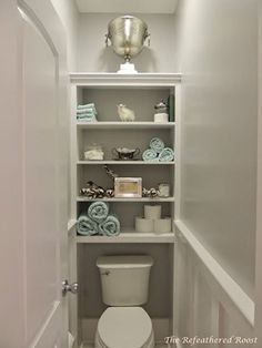The wall above the water closet is usually blank—making it an ideal storage spot. Consider having a built-in shelf where you can keep toiletries, medicines, towels, and a couple of small decor pieces.