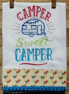 Camper Sweet Camper by seechriscreate on Etsy
