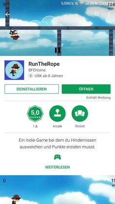 https://play.google.com/store/apps/details?id=com.RunTheRope.RunTheRope