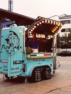 Italian street food. Papa Piada foodtruck in Helsingborg.
