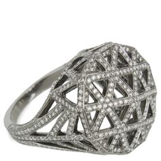 Hirshleifers - Solange - Skeleton Round Ring  (White Gold/Diamond), 14,800.00 (http://www.hirshleifers.com/jewelry/fine-jewelry/rings/solange-skeleton-round-ring-white-gold-diamond/)
