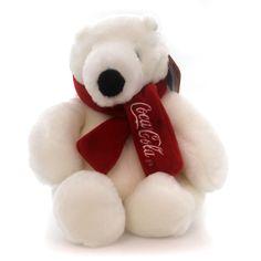 """Boyds Bears Plush 6"""" Coca-Cola Polar Bear Teddy Bear Height: 6 Inches Material: Fabric Type: Teddy Bear Brand: Boyds Bears Plush Item Number: Boyds Bears Plush 919902 Catalog ID: 18331 New With Hangta"""
