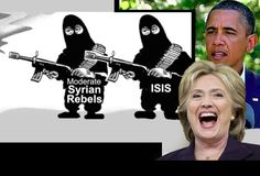 "Washington spin doctors are now desperately back-pedaling, following an embarrassing challenge by Donald Trump to both President Obama and former Secretary of State Hillary Clinton – claiming it was they who ""founded ISIS"" (see article below). Contrary to all facts."