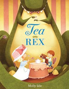 The Official SCBWI Blog: The 2014 Crystal Kite Winners: TEA REX by Molly Idle (SCBWI Arizona)