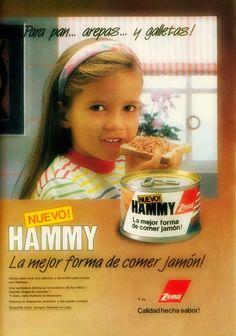 Jamón HAMMY, 90s
