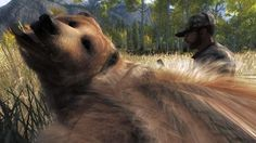I shot a Grizzly with trisomy-21in theHunter...