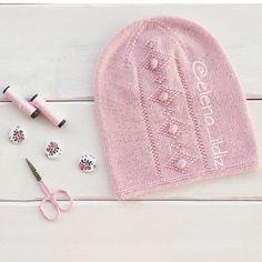 Нежнейшие шапули от Алены Илдиз :-) Подкатом схемы сердечка и ромбика с шишечками