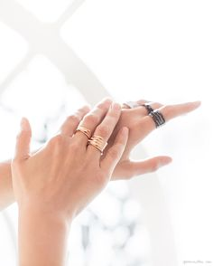 White Noise: Gaia Repossi, rings, jewelry, gold, diamonds / Garance Doré