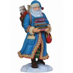 """Pleasure Of Reading Santa"" Artist's Choice Limited Edition Sculpture"