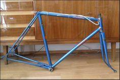 Bild 1: Köthke Champion Rennrad Rahmen aus Reynolds 531 / Nervex Muffen / 50er Jahre / RH 55 m-m