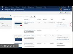 Learn how to easily make a copy of a #Joomla #Template by watching this #Video.