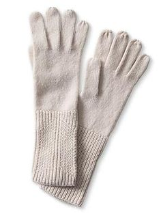 Cashmere Long Glove   Banana Republic