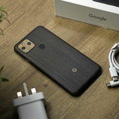 Google Pixel 5 - Silverblack Wood and Modern Oak Skin Back Camera, Brushed Metal, Phone Stand, New Phones, Carbon Fiber, Bubbles, Smartphone, Wood, Google