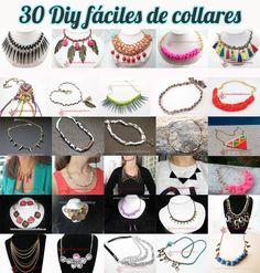 d7d4337340c6 Los materiales para estos proyectos los puedes encontar en nuestra tienda  online TUTORIALES -Collar de