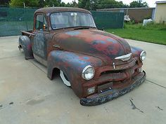 1954 Chevy Rat rod pickup truck Air bags Custom Chevrolet hot rod 53 55 56 C10