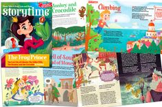 More magical stories and poems in Storytime Issue 21, including The Frog Prince, Atlantic, the Monkey and the Crocodile, Alice through the Looking Glass and more! Subscribe today at http://www.storytimemagazine.com/subscribe