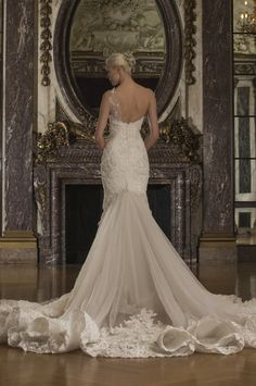 Romona Keveza Luxe #Bridal Spring 2016. #WeddingDress