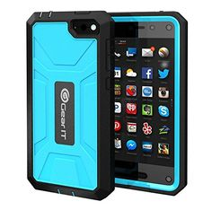 Amazon.com: Fire Phone Case, GearIT Amazon Fire phone Case TPU Silicone Hybrid Rugged Series with Front Cover and Build-in Screen Protector, Blue: Kindle Store