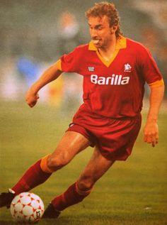 Rudi Völler. Une langue bien pendue. AS Roma de 1987 à 92.