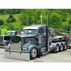 Kenworth custom W900L heavy haul