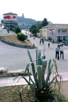 A road in Krujë, Albania, Socialist State, Socialism, Enver Hoxha, Warsaw Pact, Socialist Realism, Central And Eastern Europe, Famous Places, Magnum Photos, Street View