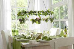 spring chandelier