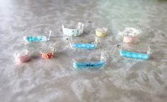 How to make miniature dollhouse vintage pyrex | Va-Voom Vintage with Brittany