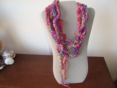 Beautiful Colors in this Beatrice Scarflette by LuDesignsCreations