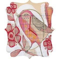 Cori Dantini Wee Lass Quatrefoil Clock – DENY Designs