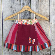 lil' gal salvaged wool skirt handmade exclusively at 2Market2: clothing & handpicked goods