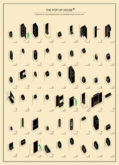 Taller DE2 Arquitectos, The POP-UP House - Flat Transformation, Madrid, Spain 2013-2014