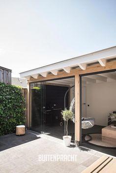 Small Balcony Design, Patio Design, Garden Design, Carport Patio, Deck With Pergola, Backyard Studio, Backyard Patio, Contemporary Garden Rooms, Cottage Patio