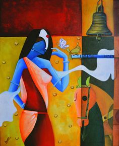 the painting of anupam pal