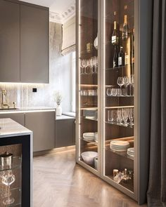 How to design your kitchen design in a thematic area – lamp ideas Luxury Kitchen Design, Kitchen Room Design, Home Decor Kitchen, Modern Interior Design, Interior Design Living Room, Küchen Design, House Design, Luxury Homes Interior, Cuisines Design