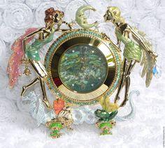 Купить Часы Время Фей,Kirks Folly,США,часики,настольные,в подарок,РЕДКОСТЬ! - часы