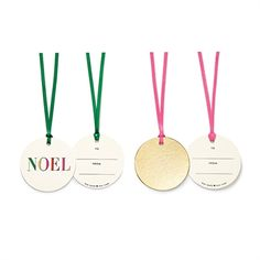 Kate Spade New York Noel Christmas & Holiday Gift Tags Kate Spade Gifts, Noel Gifts, Holiday Gift Tags, Gift Tags Printable, Christmas Holidays, Happy Holidays, Christmas Decor, Spice Things Up, Gift Wrapping