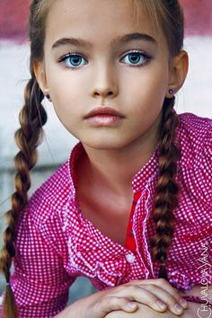 Anastasia Bezrukova... She is an amazing beauty. I wonder what kind of childhood she lives.
