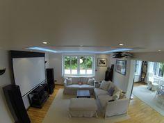 Große Leinwand Wohnzimmer