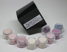 Advance acrylic polymers for professional use only. This Collection consist of 8 colors jars 1/4 (Oz).