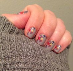 This week I decided Petit Point would be the perfect mix of gloomy winter and hopeful spring!