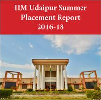 IIM Udaipur Summer Placement Report 2016-18: Highest stipend increases by 10 per cent