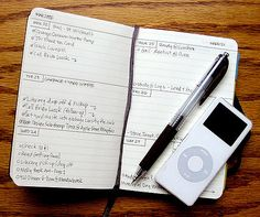 Mike Rohde's Custom Moleskine Planner | This is my customize… | Flickr