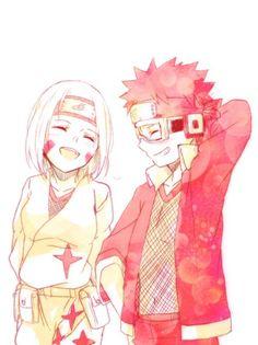 cute rin x obito | We Heart It #obito #rin