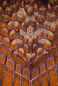 uzbekistan- looks like mc Escher designed this Islamic Architecture, Beautiful Architecture, Art And Architecture, Architecture Details, Islamic World, Islamic Art, Iran, Pakistan, Silk Road