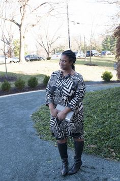 Our girl Dionna from http://www.mademepretty.com/2015/01/05/going-tribal/  going tribal in an Avenue dress!