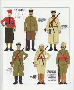 The Spahis, French Army, 1915-18