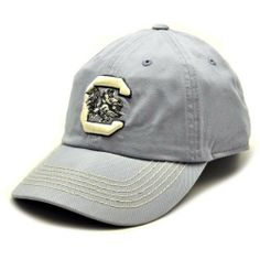 NCAA South Carolina Fighting Gamecocks Men's Neutral Zone Adjustable Cap (Grey, One Size) by Top of the World. $17.95. Unstructured fit. Imported. Six panels with eyelets. Adjustable leather strap. Quality embroidery. Top of the World South Carolina Gamecocks Neutral Zone Adjustable Hat - Gray100% CottonSix panels with eyeletsOfficially licensed collegiate productQuality embroideryAdjustable leather strapImportedUnstructured fit100% CottonAdjustable leather strapUnstructured fi...