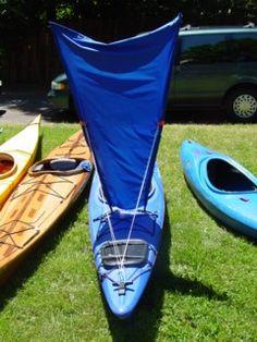 Make your own kayak sail