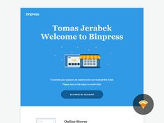 Binpress Welcome Email