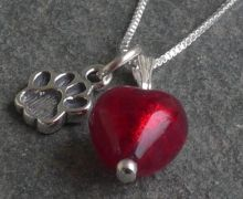Murano glass jewellery by Firefrost is designed and handmade in Cumbria, UK. Artisan beads with sterling silver, our jewellery is vibrant, unique & beautiful. Murano Glass, Glass Jewelry, Glass Pendants, Colored Glass, Handmade Jewelry, Pendant Necklace, Sterling Silver, Dog, Coloured Glass